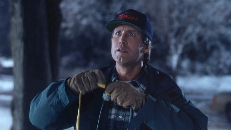Clark Griswold's lights won't come on
