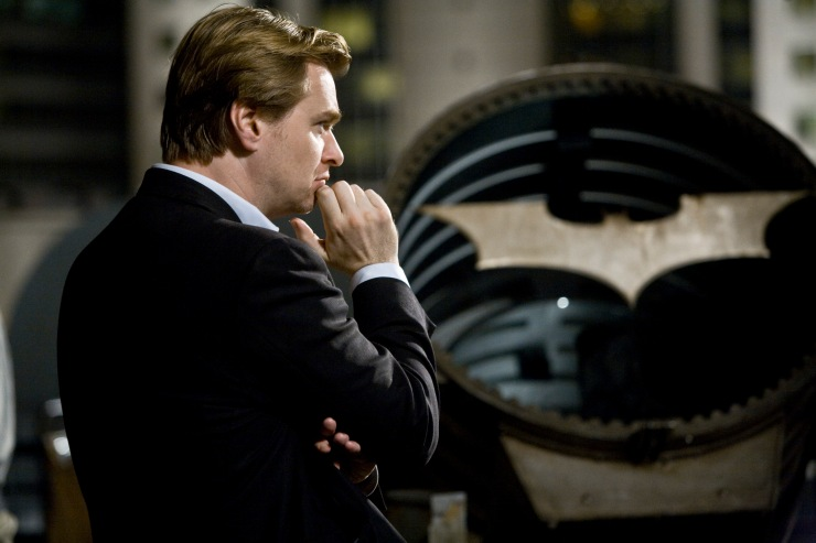 Christopher Nolan and the Bat signal