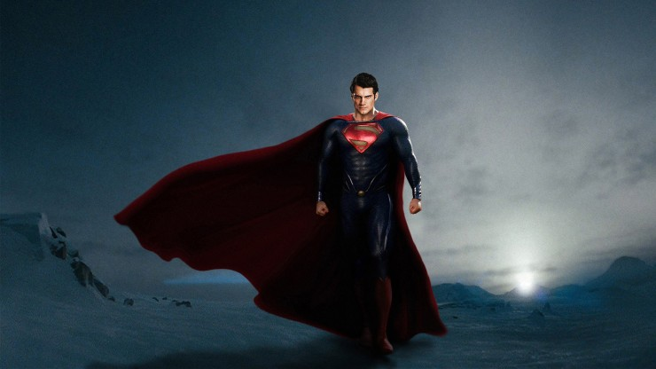 Henry Caville as Superman in Man of Steel