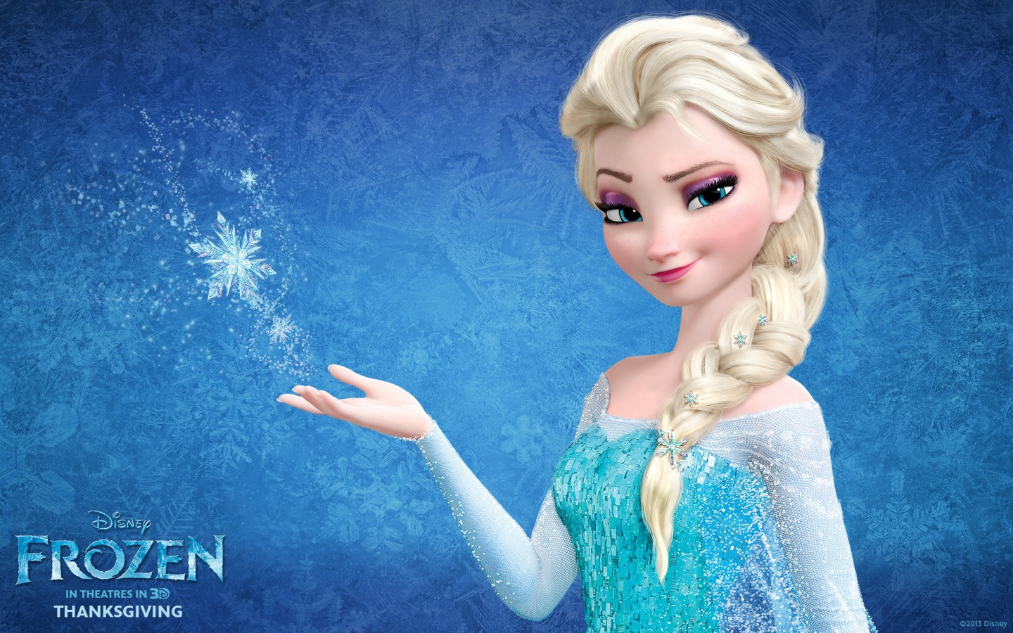 Queen Elsa in Disney's Frozen