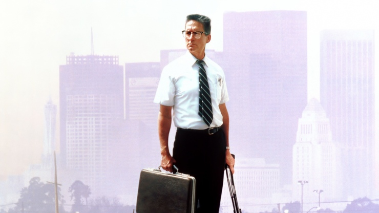 William Foster in Falling Down