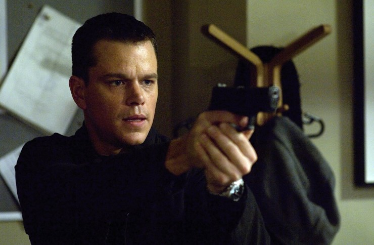 Matt Damon in The Bourne Identity