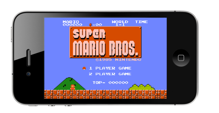 What Super Mario Bros might look like on the iPhone