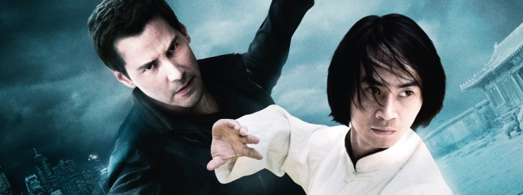 Keanu Reeves and Tiger Chen in Man of Tai Chi