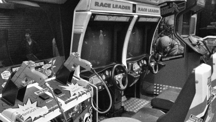 Last remnants of Trocadero's arcade lie unused