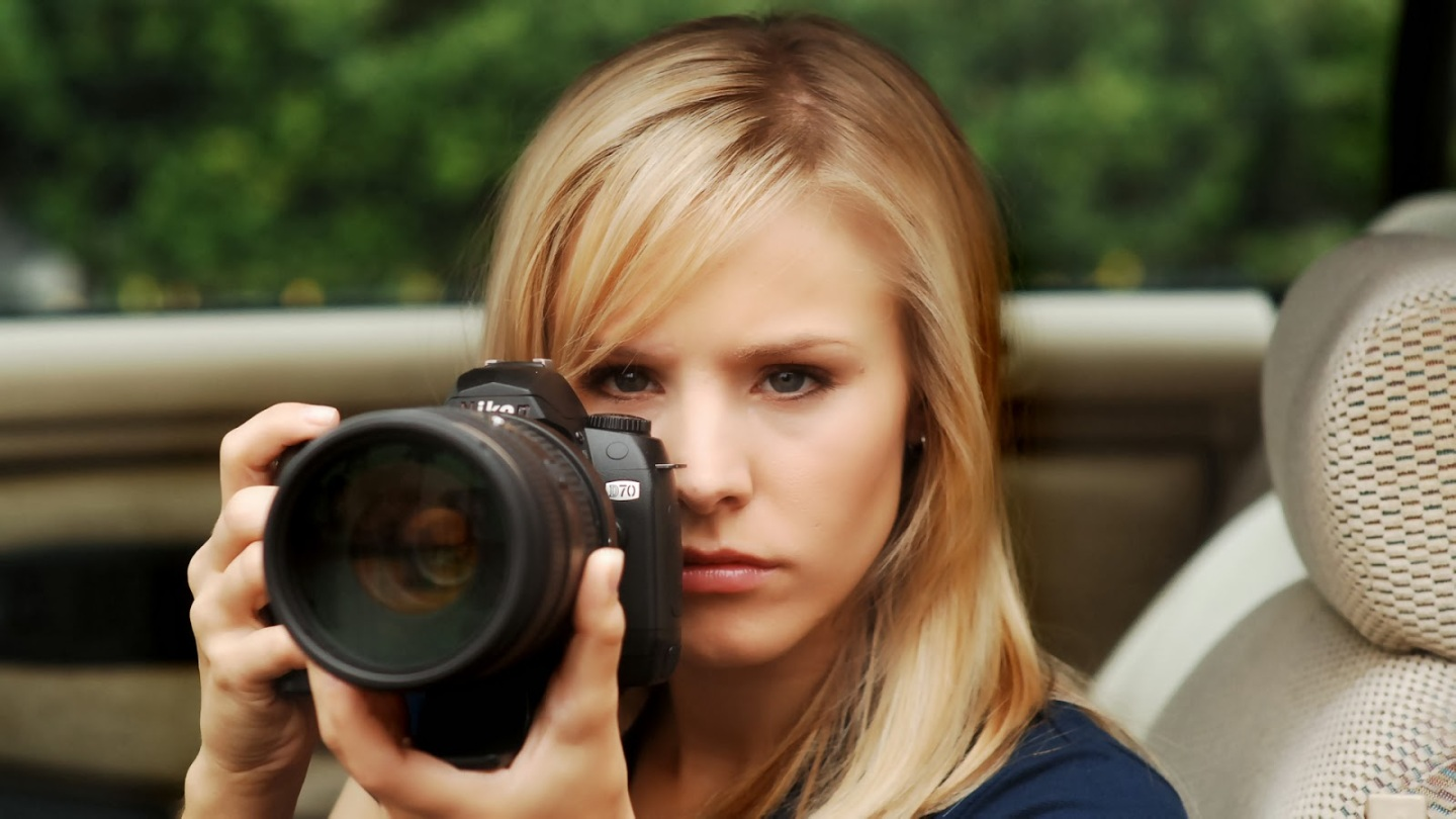 Kristen Bell in the Veronica Mars movie