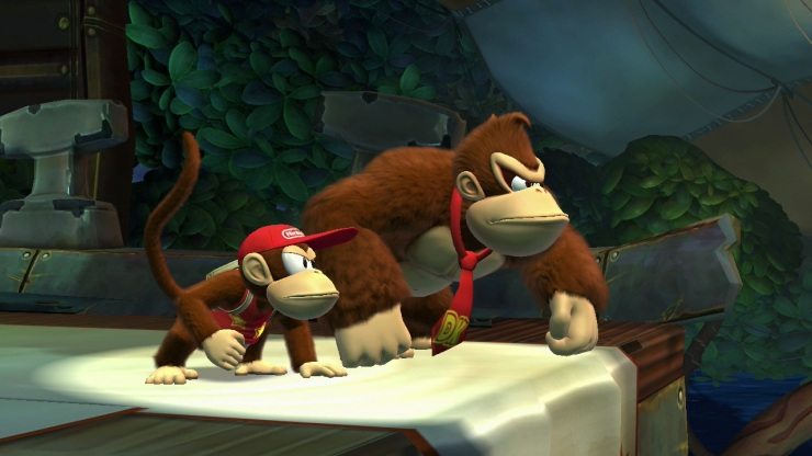 Donkey Kong Country Tropical Freeze on Wii U