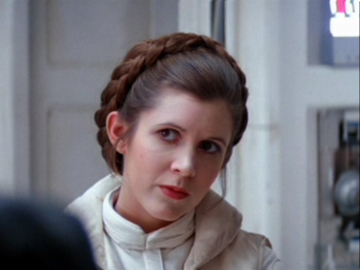 Princess Leia: don't trust the wench