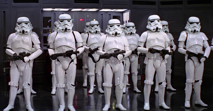 Stormtroopers: just regular guys doing their jobs