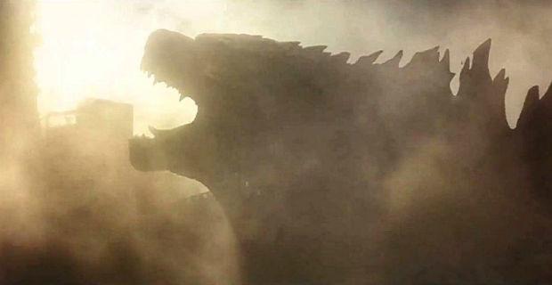Godzilla roars through smoke