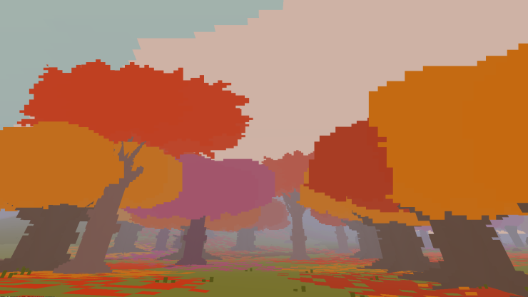 Autumn colours come in Proteus