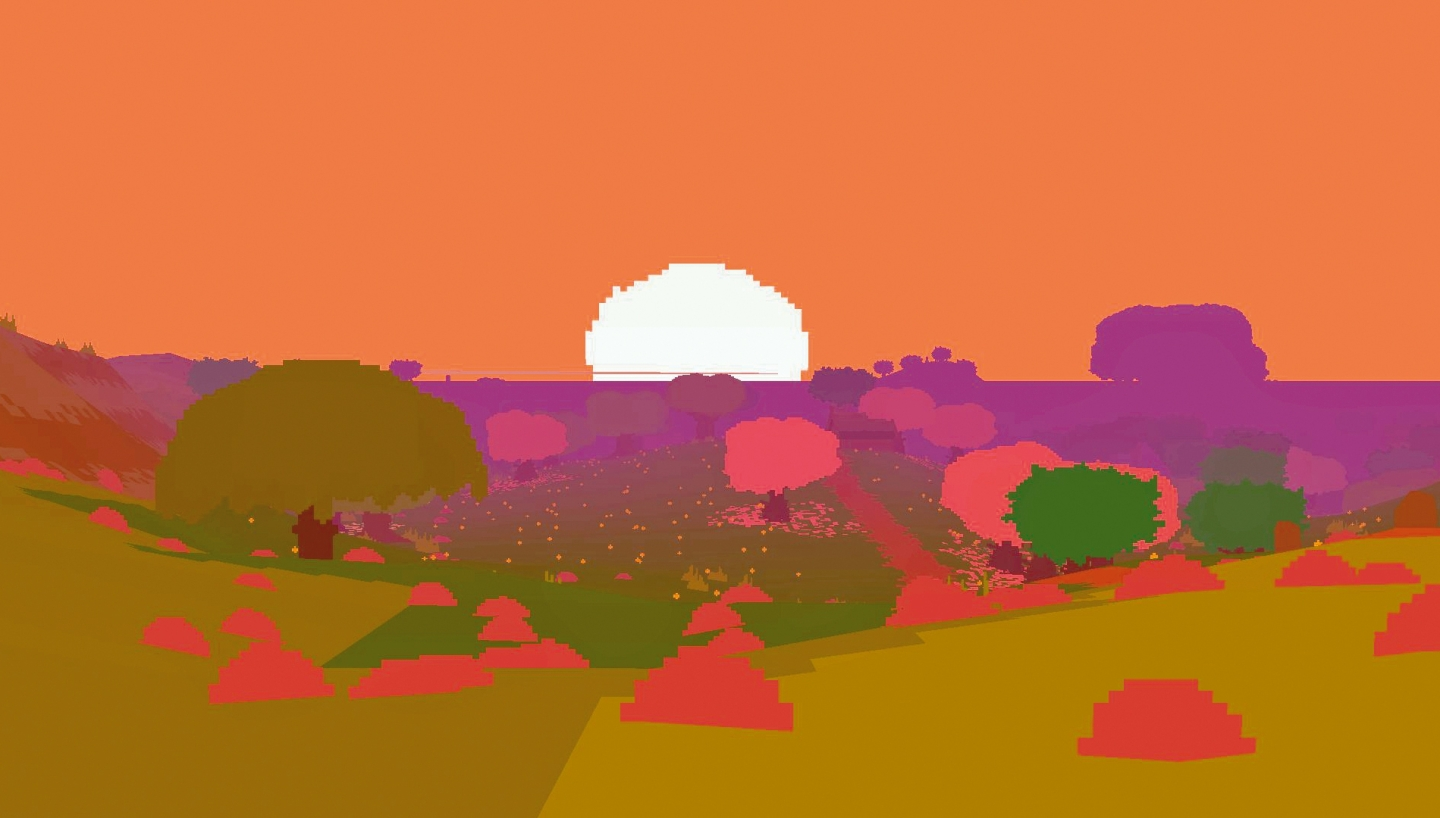 The sun sets on Proteus