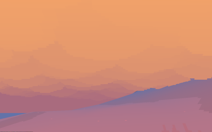 Winter at dusk in Proteus
