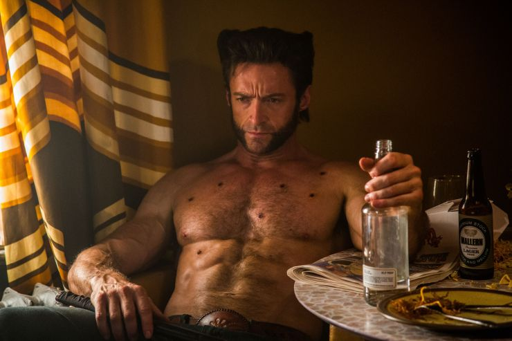 Hugh Jackman: Yup, drinking's probably a good idea at this point