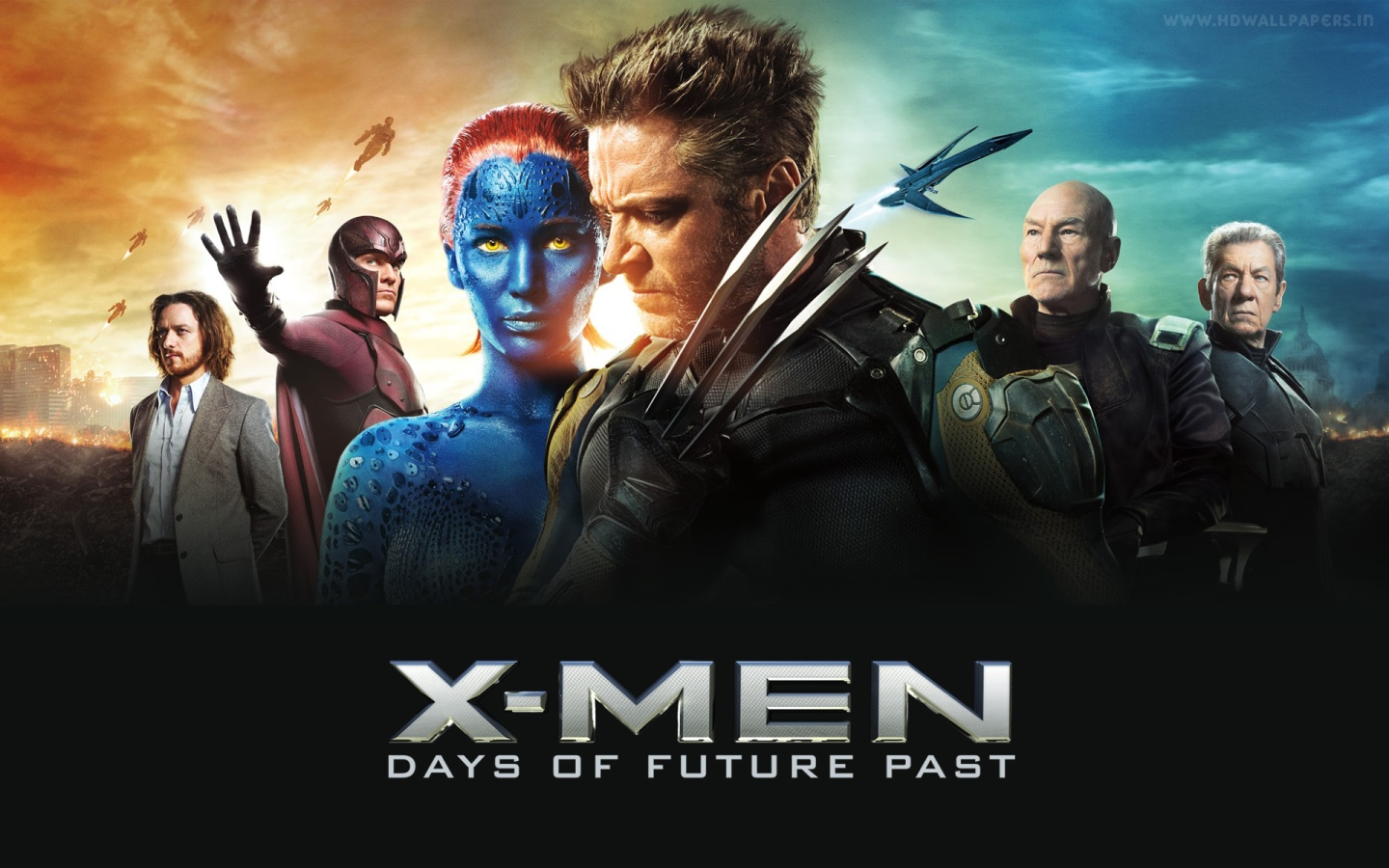 X-Men: Days of Future Past - look at all the plot devices lined up