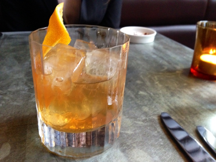 Old Fashioned cocktail at Rabot 1745