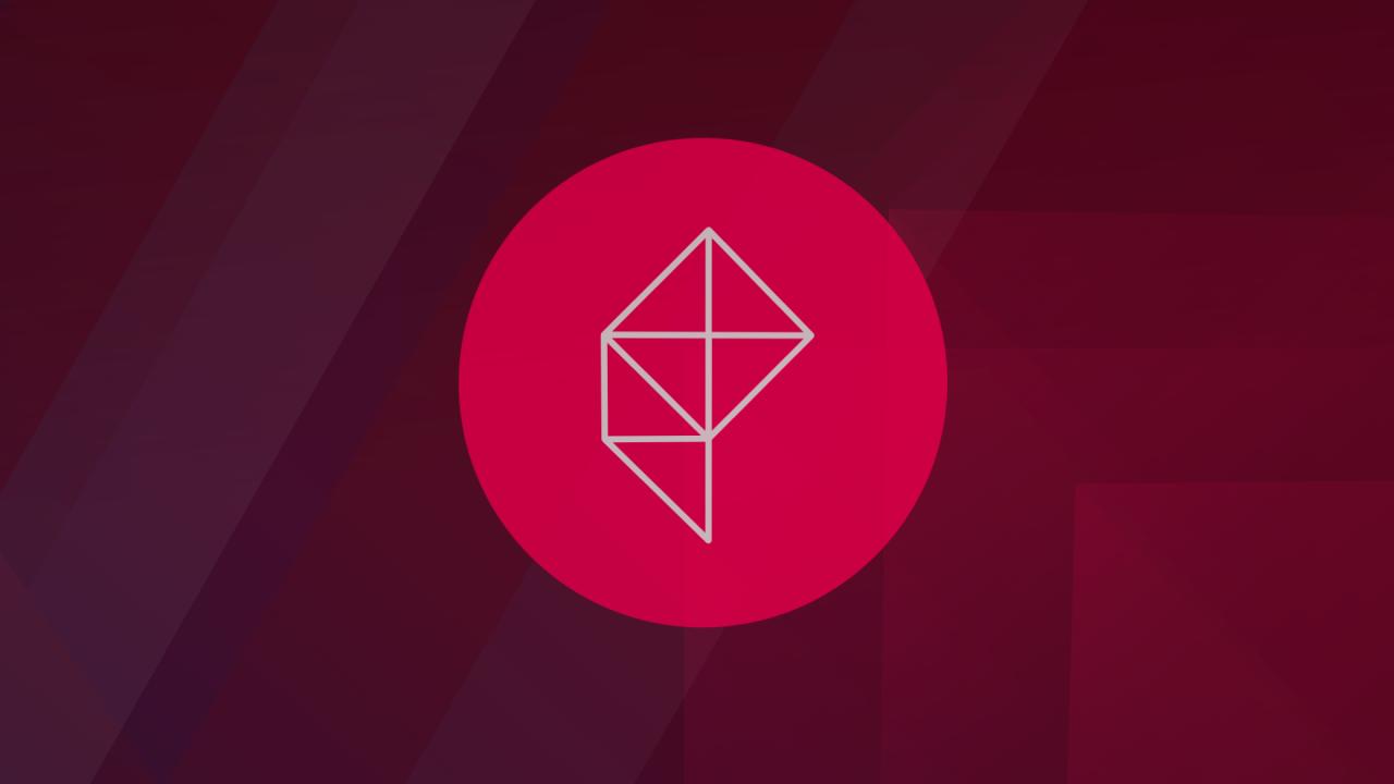 Polygon banner