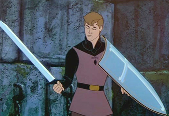 Prince Phillip in Sleeping Beauty