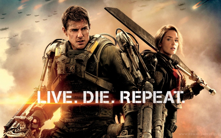 Edge of Tomorrow: this poster is the best thing about it