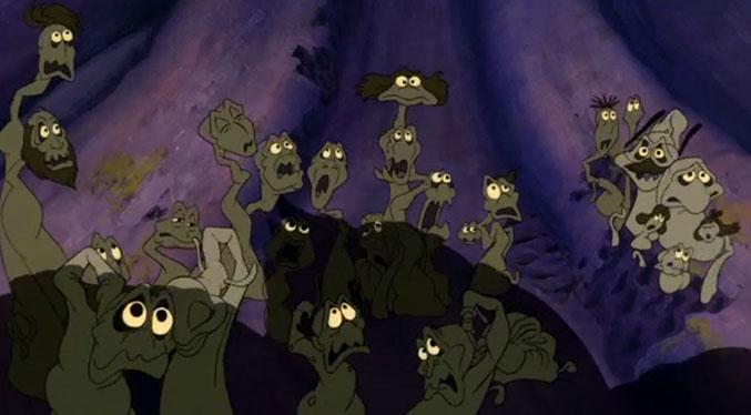 The Little Mermaid: Ursula's poor unfortunate souls