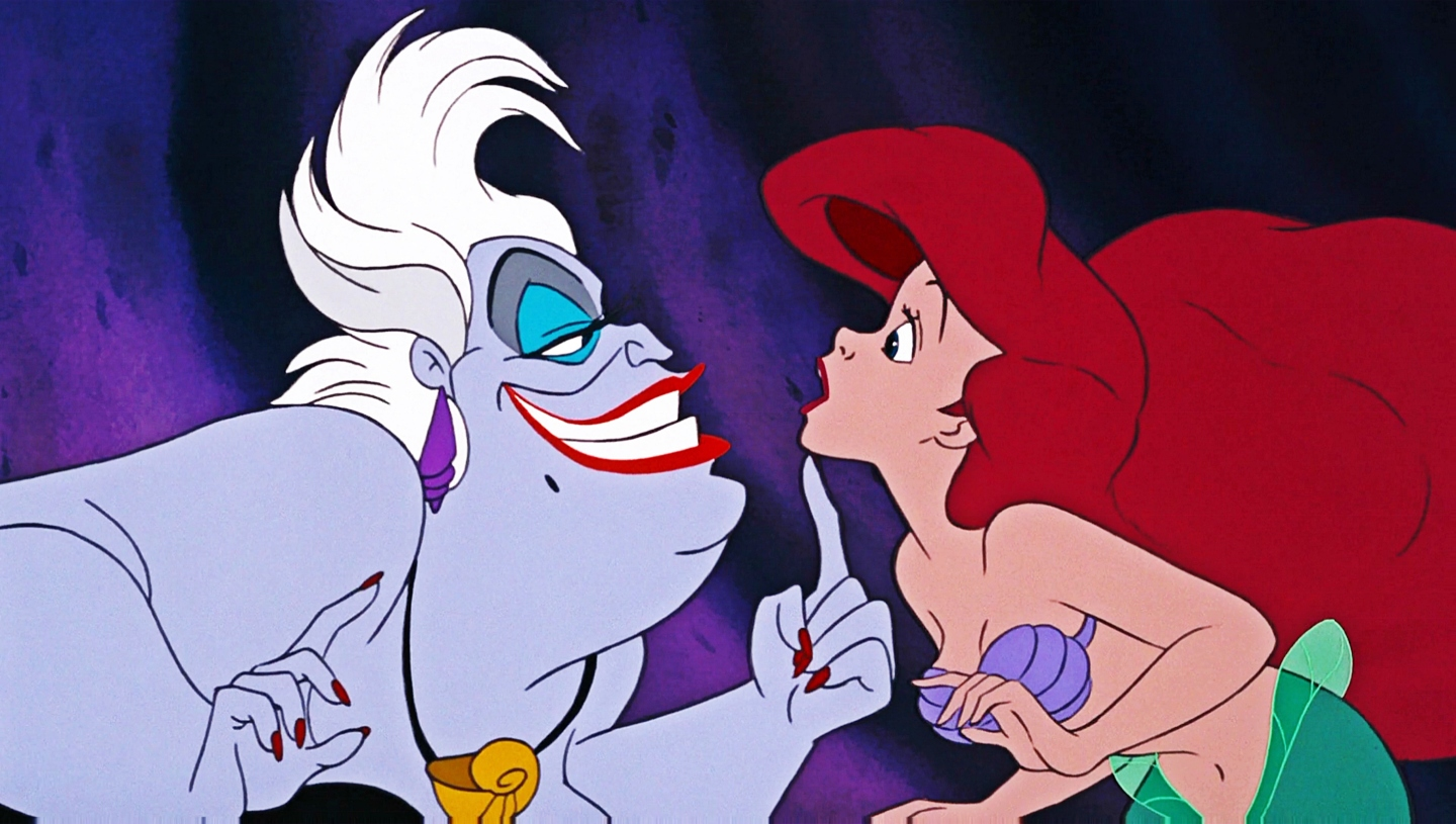 The Little Mermaid: Ursula and Ariel
