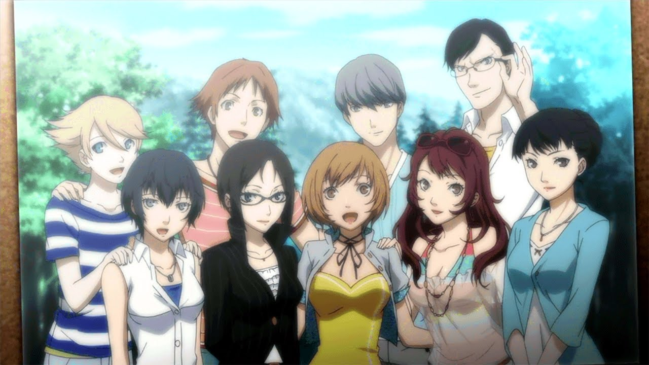 Persona 4 Golden epilogue photo