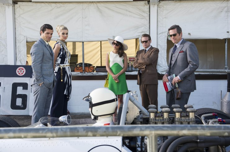 Literally everything wrong with The Man From U.N.C.L.E. - a feast of beautiful people wearing amazing clothes staring at a gorgeous car.