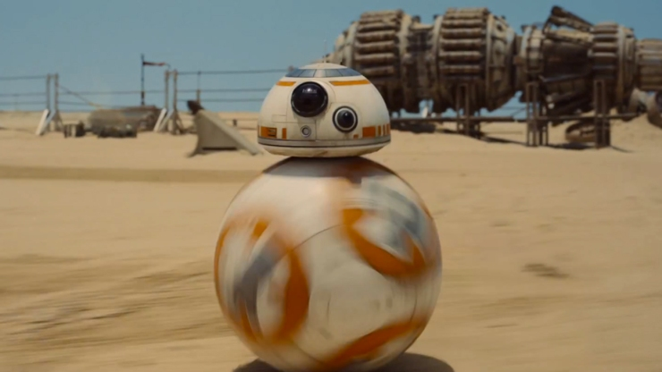 Star Wars: The Force Awakens's BB-8 droid