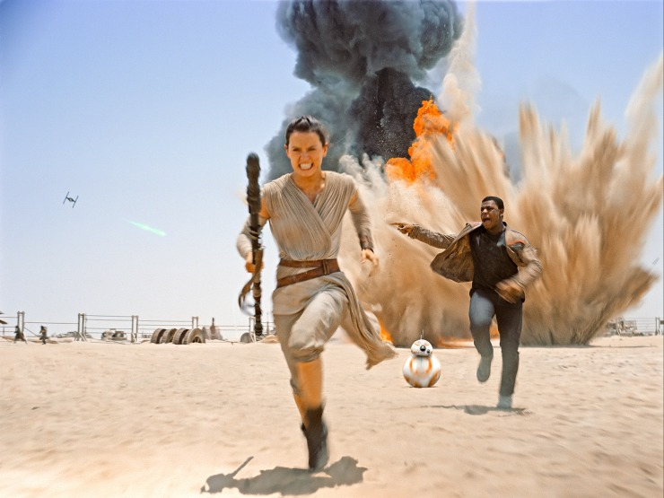 Star Wars: The Force Awakens' Rey and Finn